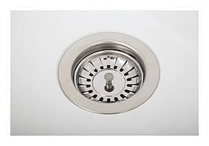 Кухонна мийка ELLECI Q 102 under top titano 68, фото 2