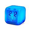 ✅ Настольные часы хамелеон с термометром, фото 2