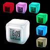 ✅ Настольные часы хамелеон с термометром, фото 3