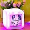 ✅ Настольные часы хамелеон с термометром, фото 7