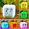 ✅ Настольные часы хамелеон с термометром, фото 10