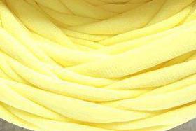Трикотажная пряжа Bobilon 7-9 мм (medium) 10 лимонный