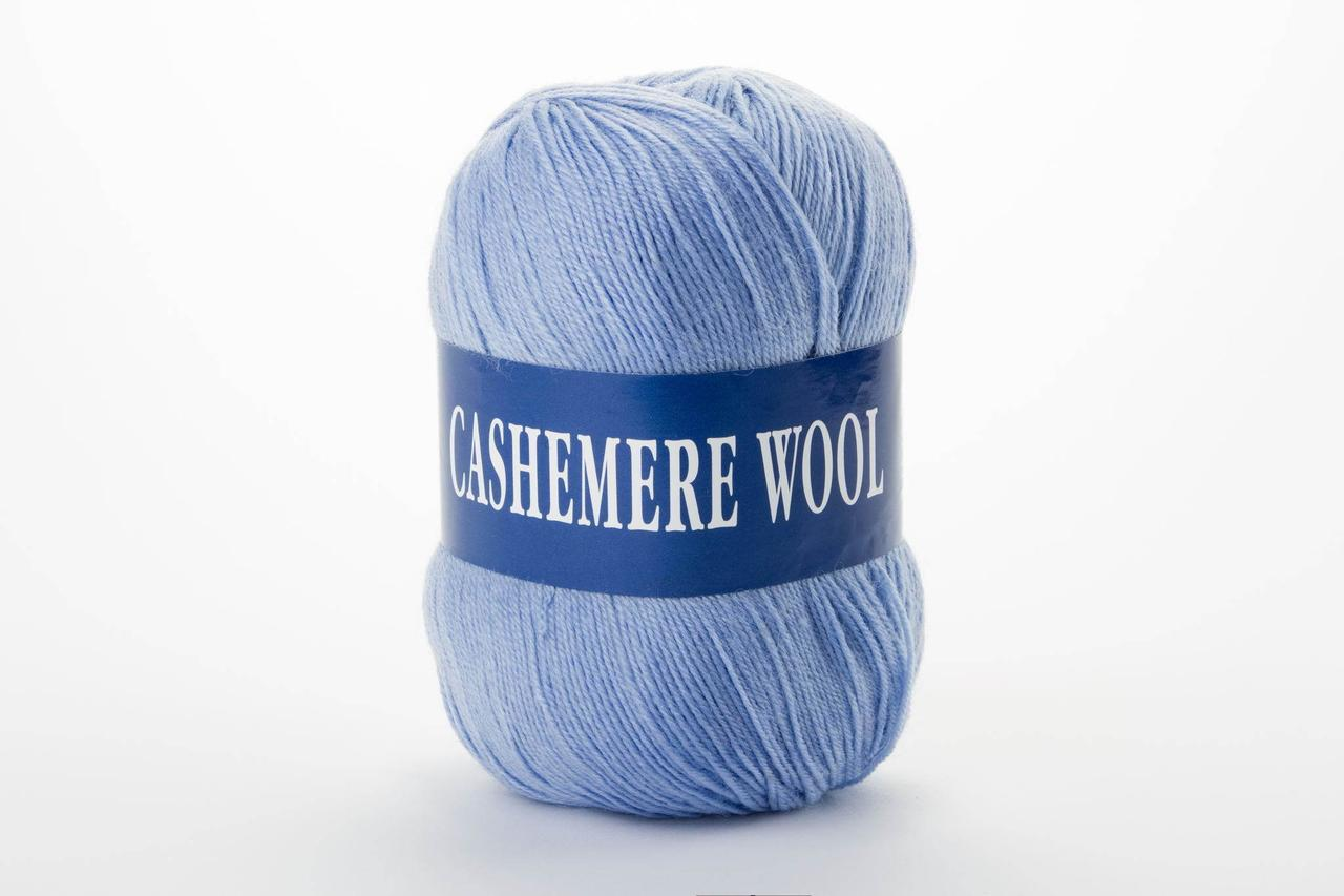 Пряжа Lana Cashemere wool 1013 голубой