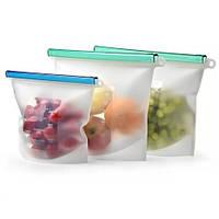 Многоразовый силиконовый пакет для хранения продуктов