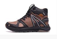 Чоловічі зимові шкіряні черевики Merrell SLAB Olive, фото 1