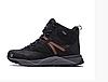 Чоловічі зимові шкіряні черевики Merrell black чорні