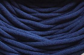 Трикотажная пряжа Bobilon 7-9 мм (medium) 40 синий сапфир