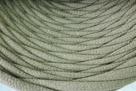 Пряжа трикотажна Bobilon 7-9 мм (medium) 49 оливковий
