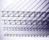 Сотовый поликарбонат Soton (прозрачный) 4 мм, фото 2