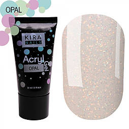 Kira Nails Acryl Gel - Opal, 30г