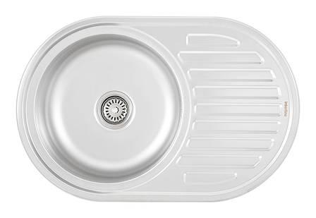 Кухонна мийка INTERLINE EVA PLUS sateen, фото 2