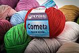 Пряжа Mondial Cometa 0100 білий, фото 6