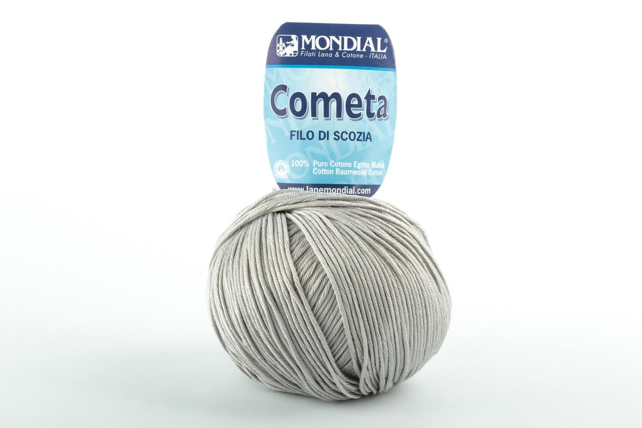 Пряжа Mondial Cometa 0207 серый