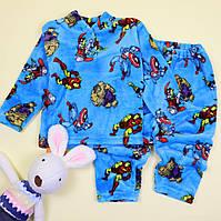 Пижама для мальчика вельсофт Мстители тм Katty размер 56,60