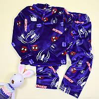 Пижама для мальчика вельсофт Человек Паук тм Katty размер 76