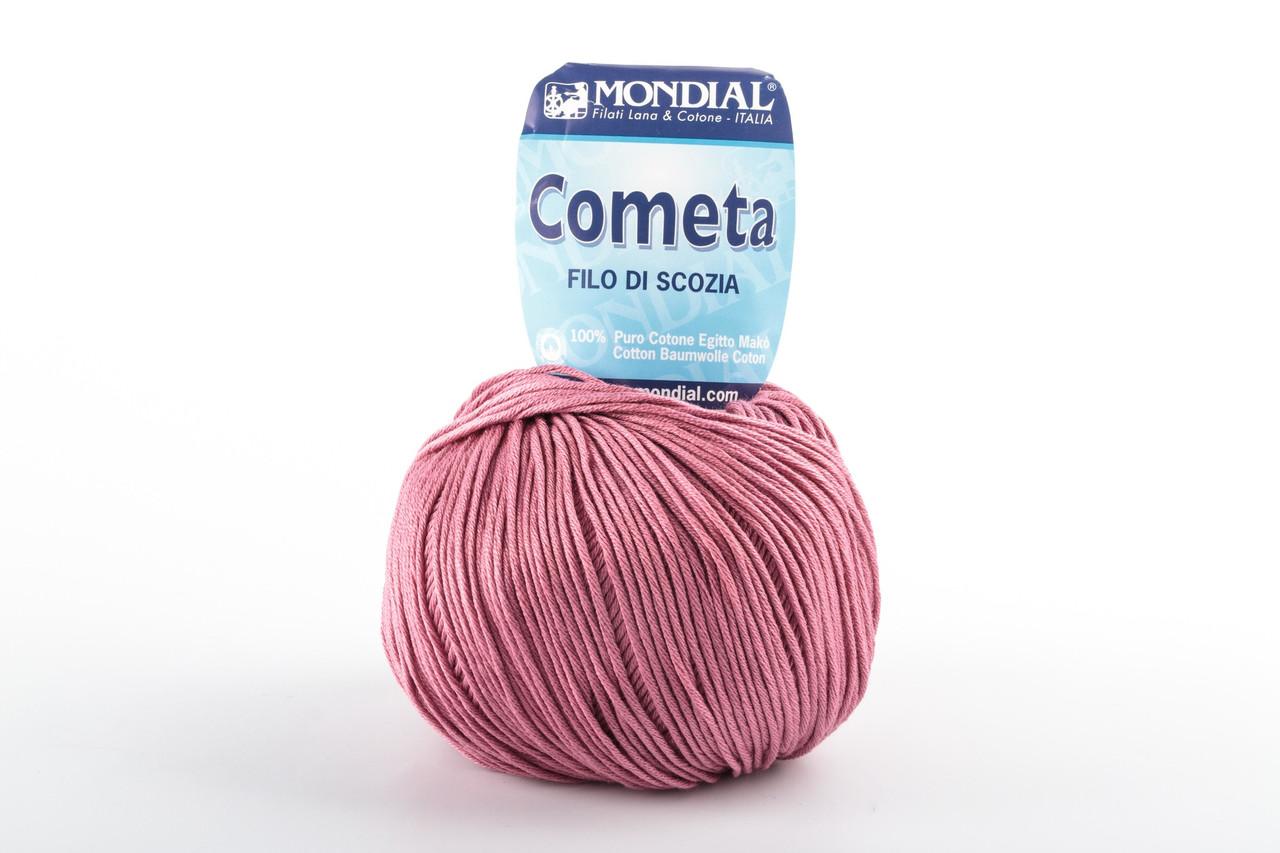 Пряжа Mondial Cometa 0865 чайная роза
