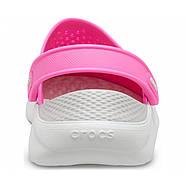 Сабо Crocs  LiteRide Clog  / Electric Pink(  Розовый  )  M5W7   37, фото 2