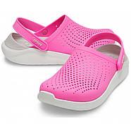 Сабо Crocs  LiteRide Clog  / Electric Pink(  Розовый  )  M5W7   37, фото 3