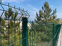 Установка секций на спортивные площадки, установка секционного забора, калиток и ворот