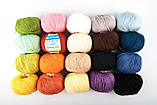 Пряжа Mondial Cotton Soft (Speciale Baby) 0509 желтый, фото 2
