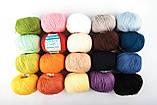 Пряжа Mondial Soft Cotton (Speciale Baby) 0901 насичений блакитний, фото 2