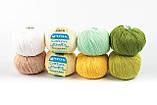 Пряжа Mondial Soft Cotton (Speciale Baby) 0901 насичений блакитний, фото 4