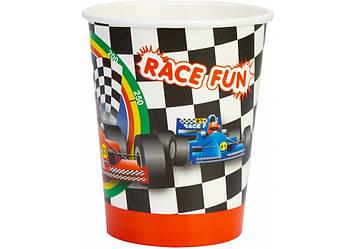 """Набір стаканів паперових """"Racing"""" 6шт 270мл №MX44073(24)(144)"""