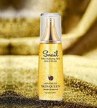 Тонер для лица с золотом и муцином королевской улитки VENZEN Silky Hydrating Skin GOLD SNAIL, 40 мл