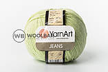 Пряжа YarnArt Jeans 63 изумруд, фото 9