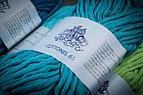 Пряжа  хлопковая Vivchari Cottonel 65, Color No.3006 светлая бирюза, фото 3