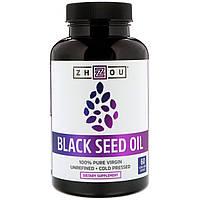 Zhou Nutrition, Black Seed Oil, 60 Vegetarian Capsules
