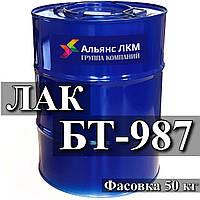 Лак БТ-987 для пропитки обмоток электрических машин и аппаратов