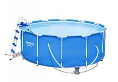 Бассейн каркасный круглый Bestway 56420 366х122см Blue