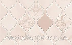 Плитка для стены Golden Tile Fragolino pink arabesque 250X400 8N5151