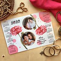 Календарь плакатный, женский, 2 фото