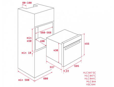 Духовой шкаф TEKA HSC 644 C код 40587603, фото 2