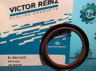 Сальник коленвала (передний) на Рено Трафик 01-> 1.9dCi — Victor Reinz (Германия) - 813441300