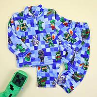 Пижама для мальчика вельсофт Майнкрафт тм Katty размер 56