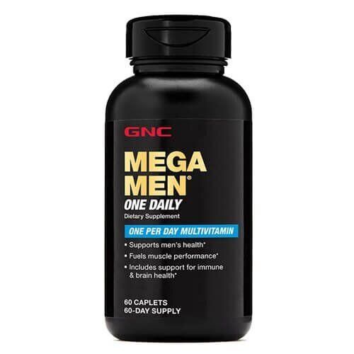 Мультивитамины для мужчин, GNC Mega Men One Daily 60 таб