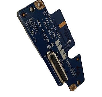 Плата включения для ноутбука Dell Latitude E6530 P/N: QALA1 LS-7763P Rev: 1.0 (A00)