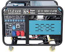 Генератор дизельный Könner&Söhnen KS 13-1DEW 1/3 ATSR (8,1 кВт, 1/3 фазы АВР)