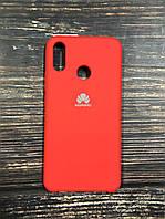 "Чехол Silicon Huawei P Smart Plus - ""Темно-терракотовый №14"""