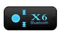 Бездротовий адаптер Bluetooth приймач аудіо ресивер BT-X6 TF card, фото 1