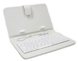 Чехол с клавиатурой Keyboard 7 White
