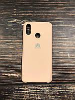 "Чехол Silicon Huawei P Smart Plus - ""Пудра №19"""