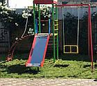 """Игровой детский комплекс для улицы """"Гамми"""" с качелями и горкой, фото 3"""