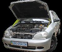 Газовый упор капота (амортизатор капота) для Daewoo ZAZ Lanos Sens / Деу ЗАЗ Ланос Сенс (1998-2017)