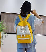 Стильный тканевый рюкзак с Ведмежонком, фото 2