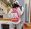 Стильный тканевый рюкзак с Ведмежонком, фото 4