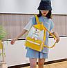 Стильный тканевый рюкзак с Ведмежонком, фото 3